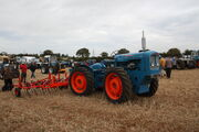 Matbro Mastiff sn 1816 - (WCF 557) with Doe Cultivator at Ford Conversions Event - IMG 1752