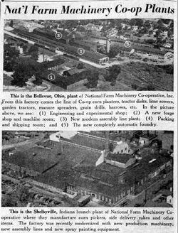 NFMC Co-op plants b&w - 1951