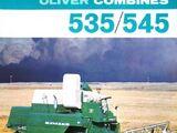 Oliver 545 combine
