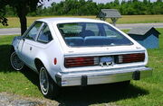 1979 AMC Spirit liftback light blue NC-r