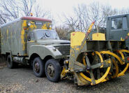 A 1960s AWD Commer Military Snowblower 6X6