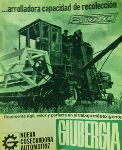 Giubergia Furia combine b&w brochure