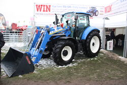New Holland T5.115 + loader - Compertion prize at Lamma 2013 IMG 6398
