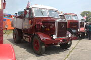 Scammell showtrac of 1952 reg XMM 73 at Barnard Castle 09 - IMG 0600
