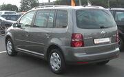 VW Touran 2.0 TDI Facelift rear