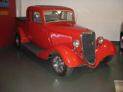 1934 Ford Coupe Utility