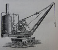 A 1890s Smith Of Rodley Steam Railway 15T Crane