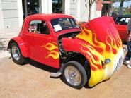 Fiat Topolino hotrod front