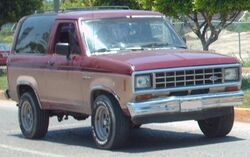 Ford Bronco II (Mexico)