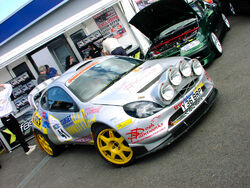 Ford Puma rally car Group B