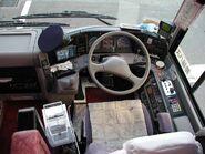 Hino Selega-R cockpit