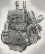 International C-113 engine