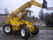 1990s Sanderson 622 4WD 4WS TeleForklift