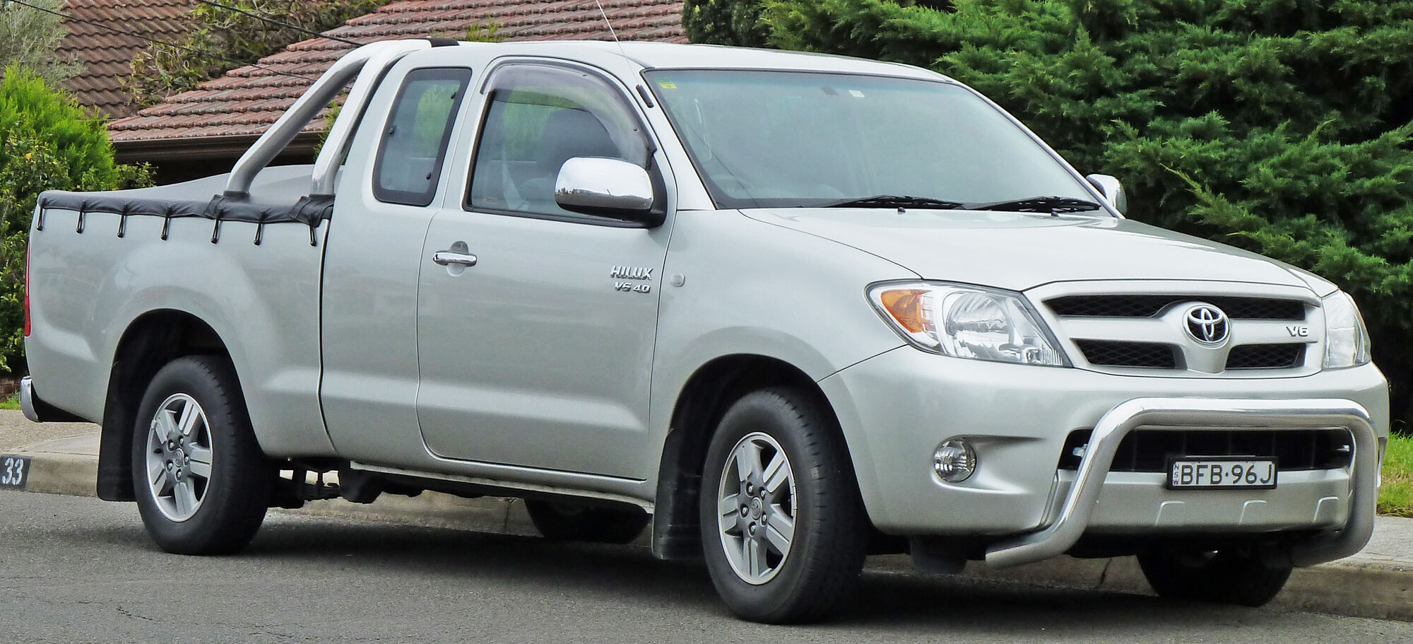 Toyota Hilux | Tractor & Construction Plant Wiki | FANDOM ...