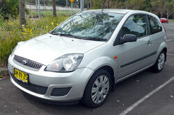 2006-2008 Ford Fiesta (WQ) LX 3-door hatchback 02