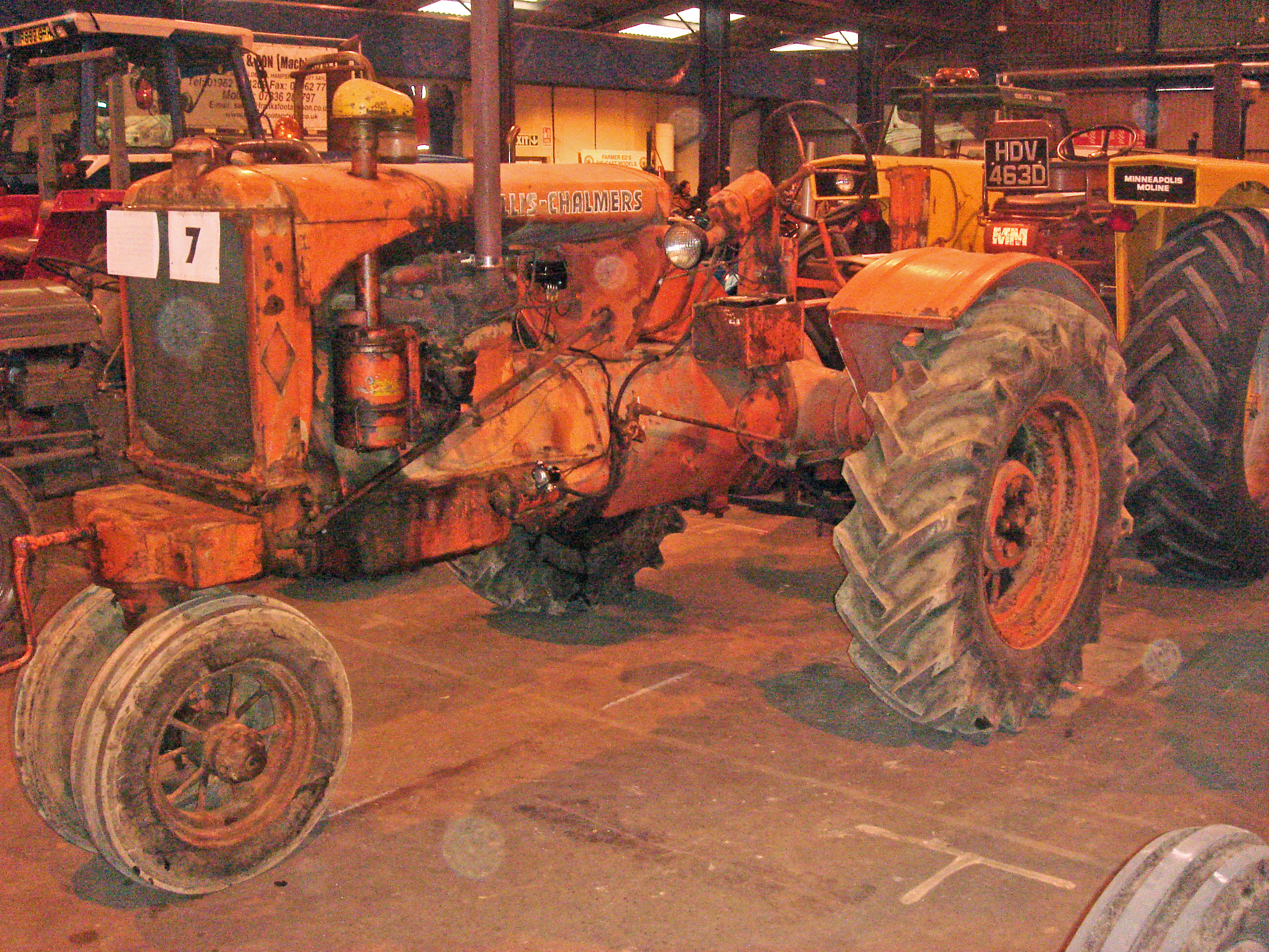 Allis-Chalmers Model WC | Tractor & Construction Plant Wiki