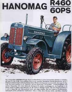 Hanomag R 460 brochure