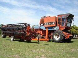 Senor B 6 combine - 1985