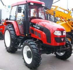 Foton TD 824 MFWD (red) - 2008