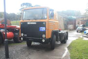 Scania tractor unit model 111 reg RWW 598W at NMM - IMG 2842