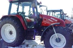 Steyr 9090 M MFWD - 2007