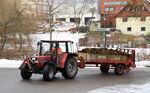Case IH 940 mit Krone Optima, Adelmannsfelden