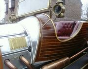 Chitty Chitty Bang Bang UK Replica detail