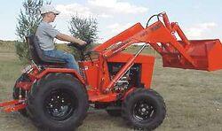 Ingersoll 7020 MFWD w loader
