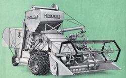Munktells MST-93 combine b&w - 1953