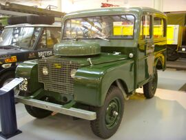 1948 Land Rover 80 Tickford Estate Heritage Motor Centre, Gaydon