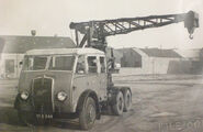 A 1950s Smith Of Rodley LT20 Foden Cranetruck Diesel