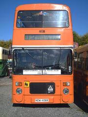 Cardiff Bus Volvo Alisa B55 408 NDW 408X