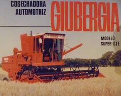 Giubergia Super GTE combine brochure