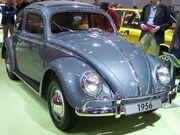 VW Käfer blue 1956 vr TCE