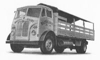 A 1950s GUY Invincible lorry