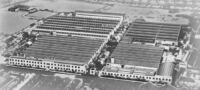 A view of GUY MOTORS Vehicle Factory in the 1950s