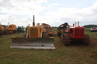 Cat D6C sn 46J1260 Bulldozer at EM wd 2011 - IMG 0487