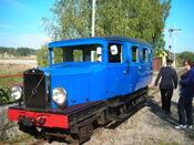HFJ-bussen har ankommit till Marielund