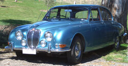 Jaguar S-Type (blue metallic)