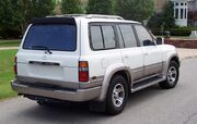 Lexus LX 450 side view