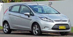 2009-2010 Ford Fiesta (WS) Zetec 5-door hatchback 01