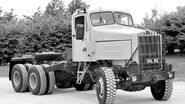 A 1960s Scammell Constructor 6X6 Haulage Tractor