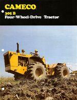 Cameco 305-B 4WD brochure