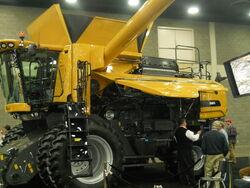 Challenger 560C combine - 2013