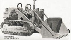 Malves MD 902C crawler b&w - 1970