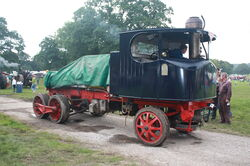 Sentinel steam wagon at Harewood