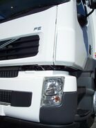 Volvo FE close up
