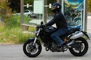 Ducati Monster 696 at Ducati Tour 09