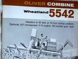 Oliver 5542 combine