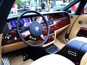 Rolls-Royce Drophead Coupé interior